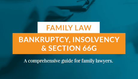 Cover of family law ebook